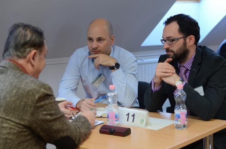 Üzletember találkozó fotó1